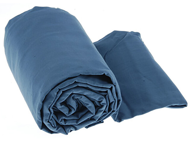 Sea to Summit Cotton Traveller Liner with Pillow Insert Navy Blue